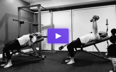 The Incline Dumbbell Bench Press