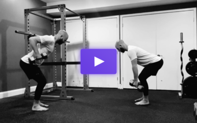 The Bent Over Dumbbell Row