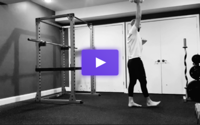 The Walking One-Arm Dumbbell Press