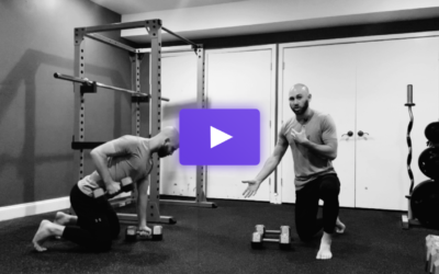 The Grounded Dumbbell Row